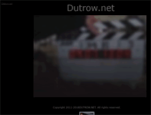 Tablet Preview of dutrow.net
